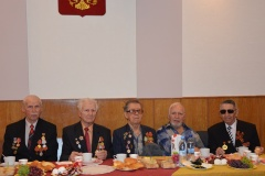 Встреча с судьями - ветеранами Великой отечественной войны