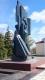 На центральной площади г. Николаевска в 1980 г.воздвигнут величественный памятник землякам, не вернувшимся с войны